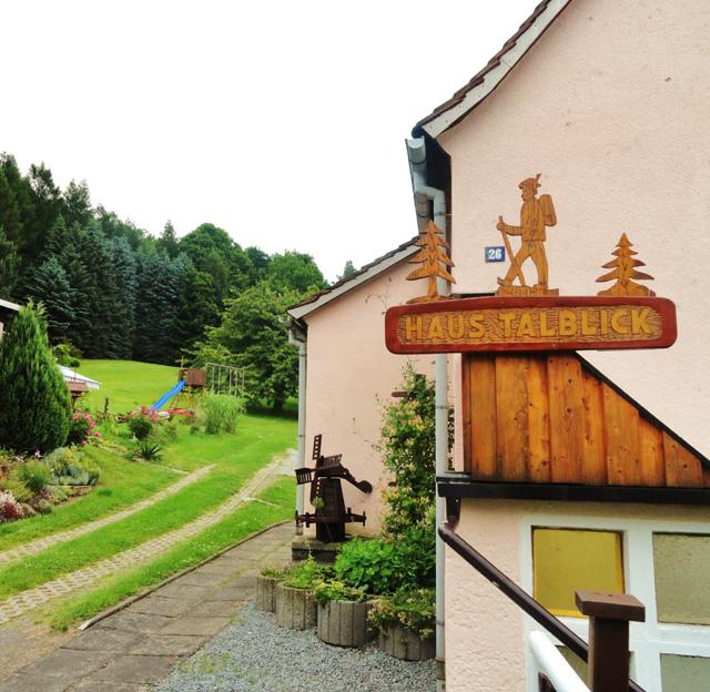 Haus Talblick: Familie Hauswald, Neustadt OT